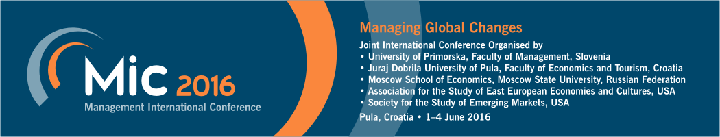 Management International Conference 2016